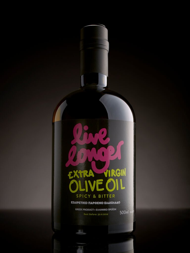 Live longer extra virgin oil bottle 500ml